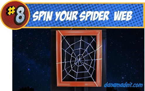 Spiderman Web decor