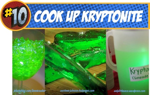 Kryptonite recipes for Superman
