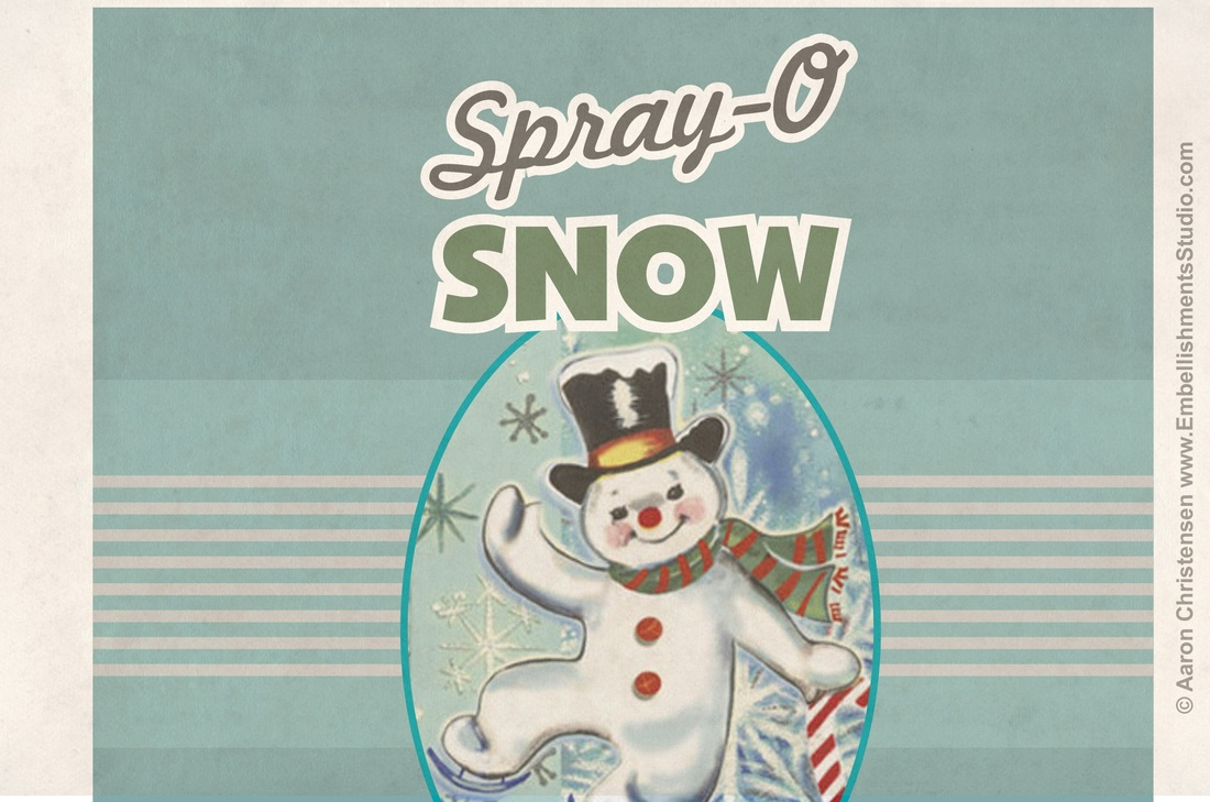 Holiday Craft Vintage Spray Snow Free Download by Aaron ChristensenPicture