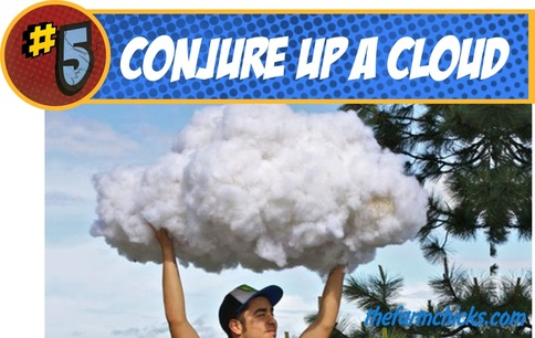 Make your own realistic DIY clouds