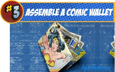 Superhero Comic Wallet DIY