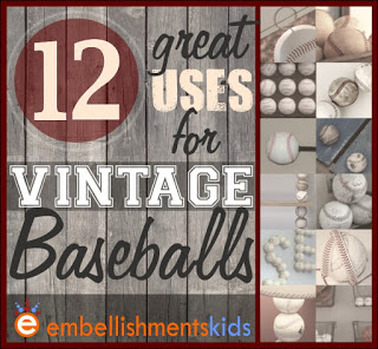 12 Baseball DIY Ideas for Kids Rooms and the Home