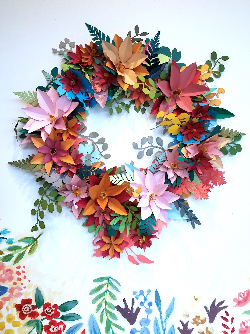 Laser cut paper florals using the Glowforge by Embellishments Studio