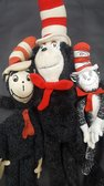 Seuss Cat in the Hat Dolls, Plush, figures