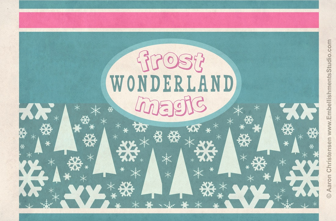 Christmas Craft Vintage Spray Frost Free Download by Aaron Christensen