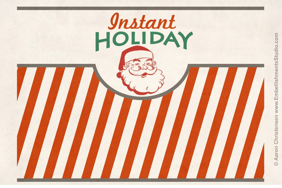 Christmas Instant Holiday Craft Vintage Spray Frost Free Download by Aaron ChristensenPicture