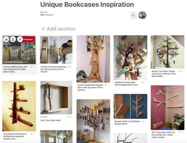 Children's tree shaped book case inspiration by Aaron Christensen